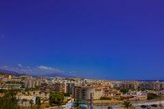 Ciudad de Estepona Foto de archivo libre de regalías