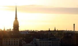 Ciudad de Estocolmo imagen de archivo