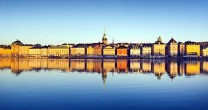 Ciudad de Estocolmo Imagen de archivo libre de regalías
