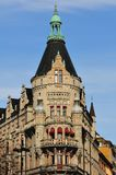 Ciudad de Estocolmo, Suecia Acrhitecture Fotos de archivo libres de regalías