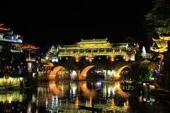 Ciudad de Fenghuang, Hunan China Fotografía de archivo libre de regalías