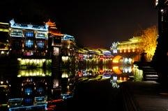Ciudad de Fenghuang o pueblo de Phoenix fotografía de archivo