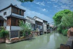 Ciudad de Fengjin de Shangai China Imágenes de archivo libres de regalías