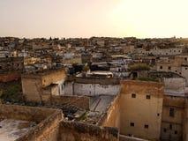 Ciudad de Fes, Marruecos Imagen de archivo