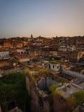 Ciudad de Fes, Marruecos Imágenes de archivo libres de regalías