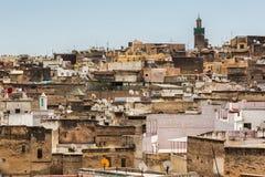 Ciudad de Fes, Marruecos Fotografía de archivo