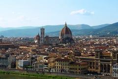 ciudad de Florencia Imágenes de archivo libres de regalías