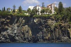 Ciudad de Funchal Foto de archivo libre de regalías