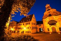 Ciudad de Fussen Imagen de archivo