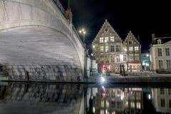 Ciudad de Gante Fotos de archivo libres de regalías