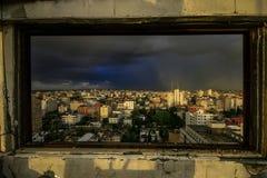 Ciudad de Gaza Foto de archivo libre de regalías