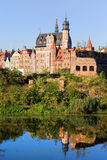 Ciudad de Gdansk Foto de archivo