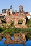 Ciudad de Gdansk en Polonia Foto de archivo libre de regalías