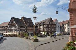 Ciudad de Gengenbach, Schwarzwald Foto de archivo libre de regalías