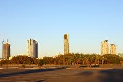 Ciudad de Gold Coast Imagen de archivo