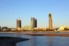 Ciudad de Gold Coast Fotografía de archivo libre de regalías