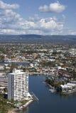 Ciudad de Gold Coast Fotos de archivo libres de regalías