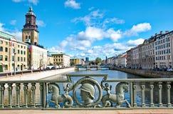 Ciudad de Goteburgo en Suecia foto de archivo