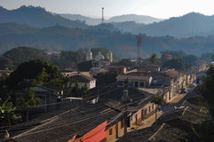 Ciudad de Gracias en Honduras Fotos de archivo