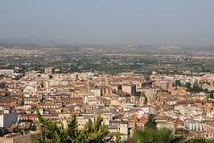 Ciudad de Granada Imagen de archivo libre de regalías