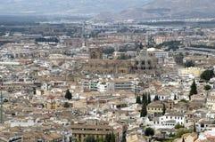 Ciudad de Granada foto de archivo