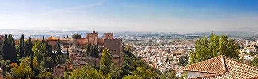 Ciudad de Granada, España Imagen de archivo libre de regalías