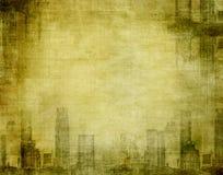 Ciudad de Grunge libre illustration
