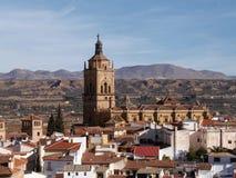 Ciudad de Guadix Foto de archivo libre de regalías