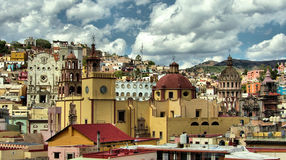 Ciudad de Guanajuato Foto de archivo libre de regalías