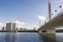 Ciudad de Guangzhou en China Imagen de archivo libre de regalías