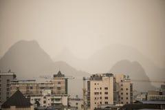 Ciudad de Guilin Fotos de archivo libres de regalías