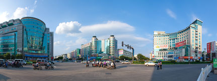 Ciudad de Guilin Foto de archivo libre de regalías