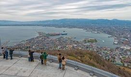 Ciudad de Hakodate Imagenes de archivo