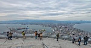 Ciudad de Hakodate Fotografía de archivo