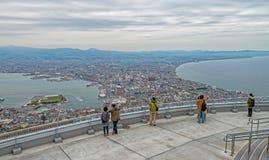 Ciudad de Hakodate Imagen de archivo
