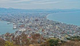 Ciudad de Hakodate Fotos de archivo libres de regalías