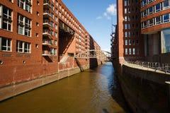 Ciudad de Hamburgo foto de archivo