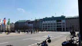 Ciudad de Hamburgo Imágenes de archivo libres de regalías
