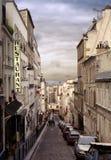 Ciudad de historias no dichas Imagen de archivo libre de regalías