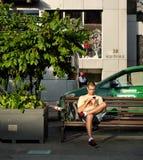Ciudad de Ho Chi Minh, Vietnam, viajero, turista Fotos de archivo libres de regalías