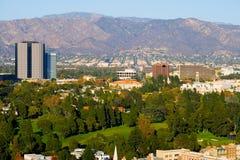 Ciudad de Hollywood Imágenes de archivo libres de regalías