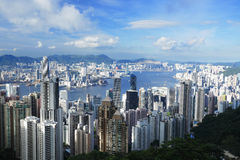 Ciudad de Hong Kong Imagenes de archivo