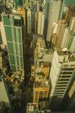 Ciudad de Hong Kong Fotografía de archivo
