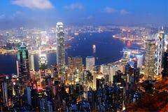 Ciudad de Hong Kong fotografía de archivo libre de regalías