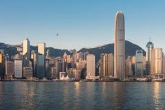 Ciudad de Hong-Kong Foto de archivo