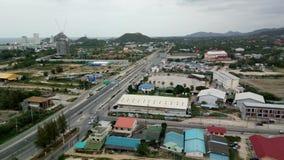 Ciudad de HuaHin Foto de archivo libre de regalías