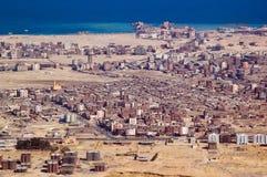 Ciudad de Hurghada Fotos de archivo libres de regalías