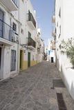 Ciudad de Ibiza Imagen de archivo libre de regalías