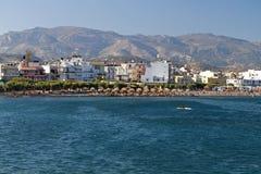 Ciudad de Ierapetra, isla de Crete, Grecia foto de archivo libre de regalías
