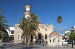 Ciudad de Ierapetra, isla de Crete, Grecia fotografía de archivo libre de regalías
